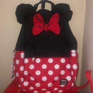 Disney Loungefly Minnie Mouse Backpack NWT